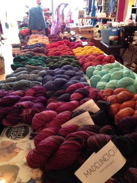 Yarn Madeline Tosh at Stitch House