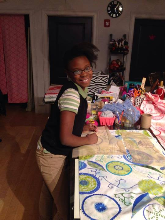 A happy quilter