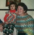 me and my Mama... love the colors!