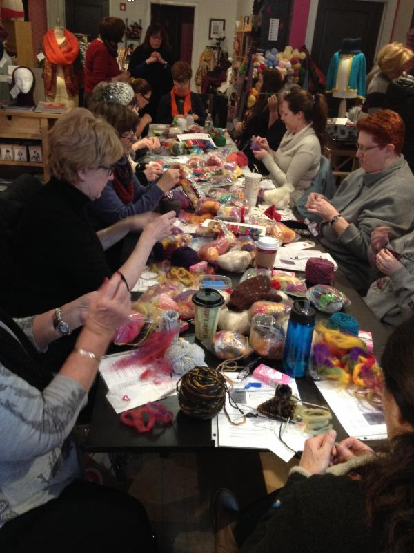 Crocheting Classes Nyc : Extreme Knitting, More Sewing Classes, Please Read! Stitch House ...